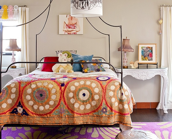 Anthropologie Italian Campaign Bed