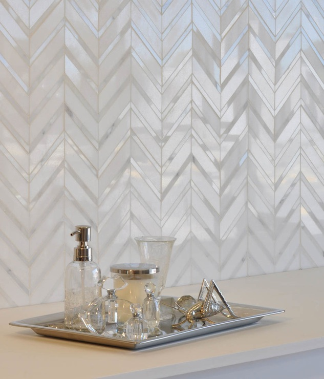 herringbone tile backsplash design ideas