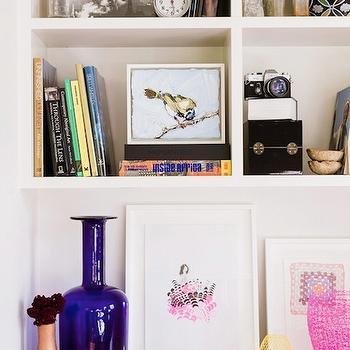Cobalt Blue Vase, Eclectic, living room