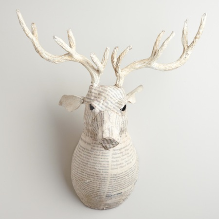 Recycled Papier Mache Animal Sculpture Look 4 Less