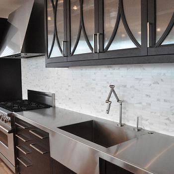 Black Kitchen Cabinets, Contemporary, kitchen, KItchen Lab