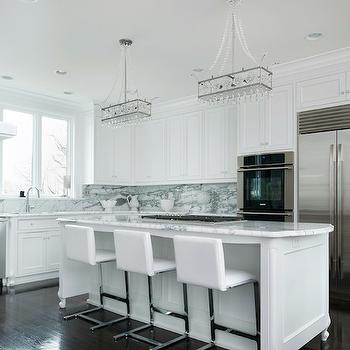 Modern Bar Stools & Sleek White Kitchen Counter Stools Design Ideas islam-shia.org