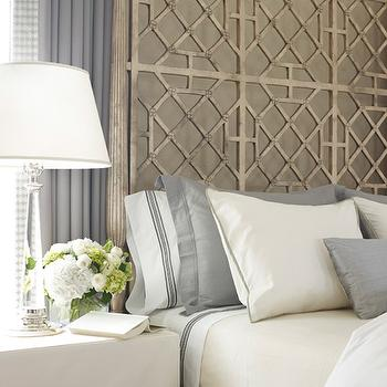 Trellis Headboard, Transitional, bedroom, Lichten Craig Architects
