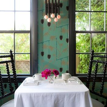 Abacus Chairs, Eclectic, dining room, Rachel Reider Interiors
