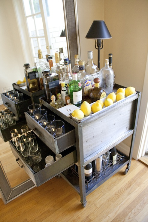 Vintage Bar Cart >> Vintage Bar Cart Vintage Dining Room Could I Have That