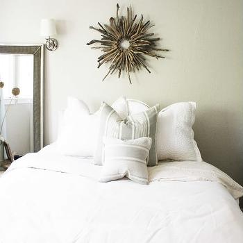 Round Driftwood Mirror, Cottage, bedroom, could i have that?