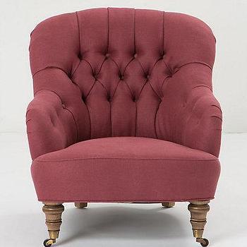 Linen Corrigan Chair, Anthropologie.com