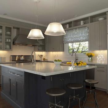 Two-Tone Kitchen Design, Contemporary, kitchen, Annie Lowengart Design