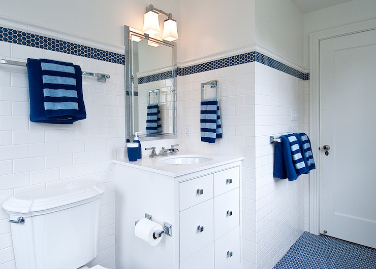 Blue Boy 39 S Bathroom Cottage Bathroom Tamara Mack Design