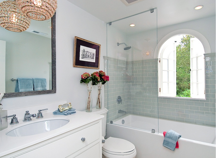 blue subway tile cottage bathroom tamara mack design