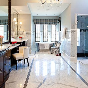Huge Master Bathroom, Transitional, bathroom, Elizabeth Kimberly Design
