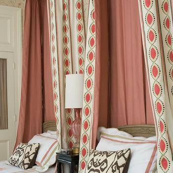 Girls' Canopy Bed- Eclectic, bedroom, MMR Interiors