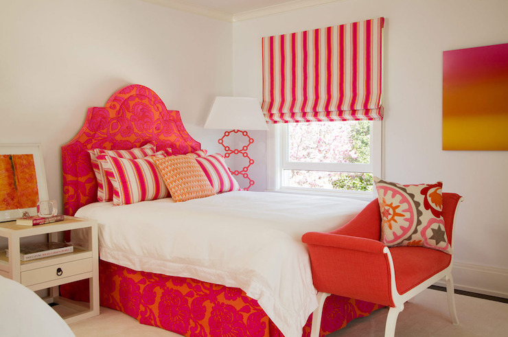 Superbe View Full Size. Whimsical Red And Orange Girls Bedroom ...