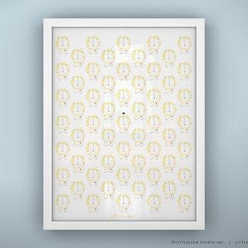 Baby Nursery Print Lion Unframed by LeoLittleLion on Etsy