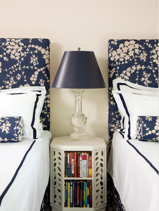 Patterned Headboards Cottage Boy's Room Amanda Nisbet Design Beauteous Patterned Headboards