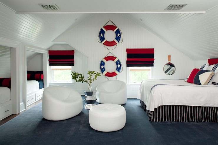 Nautical Theme Boys 39 Bedroom Cottage Boy 39 S Room Amanda Nisbet D