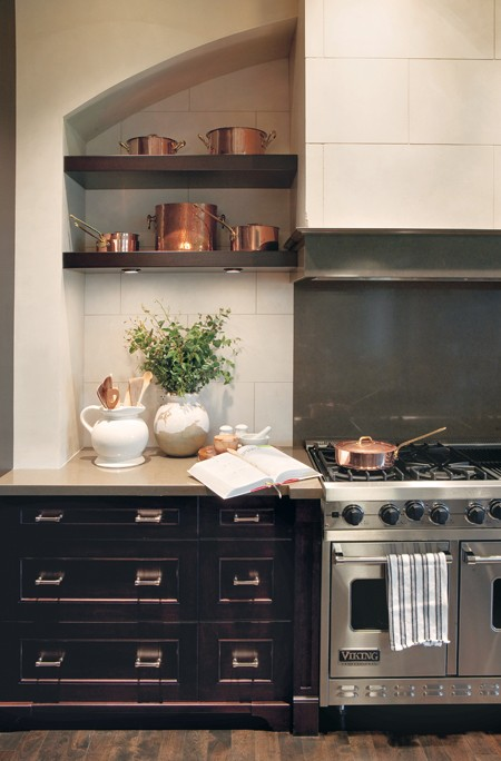Distressed Kitchen Cabinets French Kitchen Nam Dang