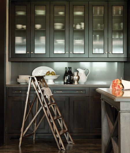 Black X Cabinets Design Ideas