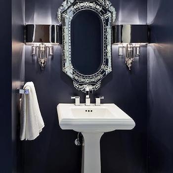 navy blue bathroom design ideas, Bathroom decor