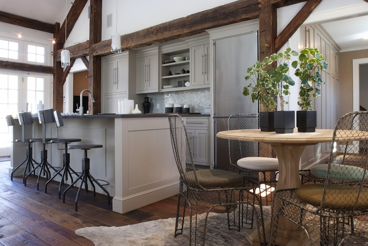 Interior design inspiration photos by papyrus home design for Country industrial kitchen designs