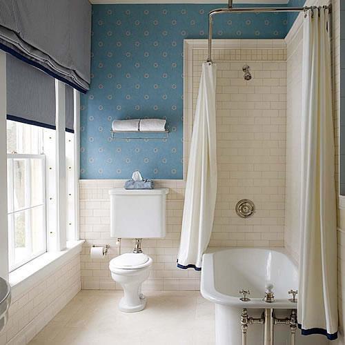 black clawfoot tub - cottage - bathroom - house & home