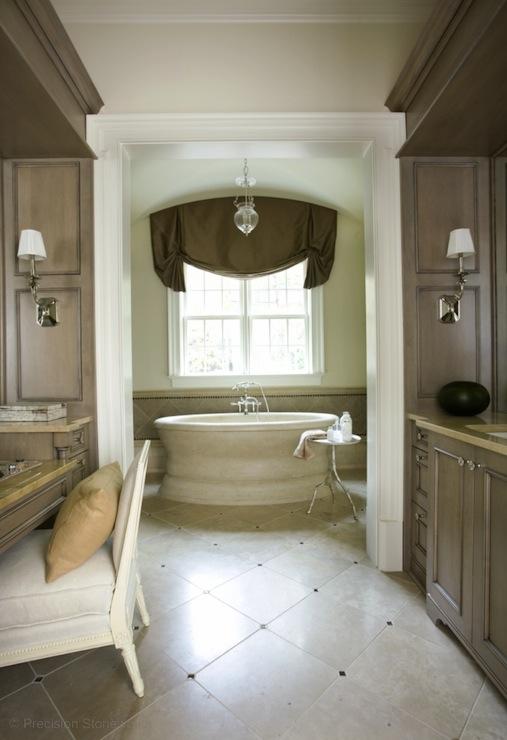 Cream And Brown Granite Countertops Design Ideas