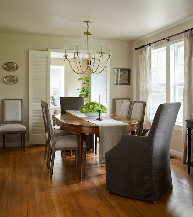 French Dining Room Chairs - Cottage - dining room - Marianne Simon ...