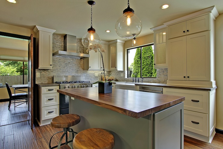 white country kitchen with butcher block galleryhip com