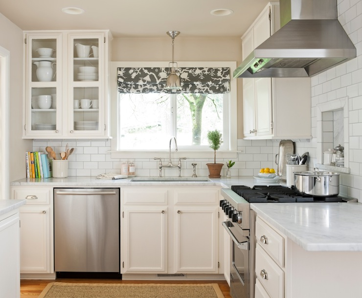L Shaped Kitchen Transitional Kitchen Benjamin Moore Water