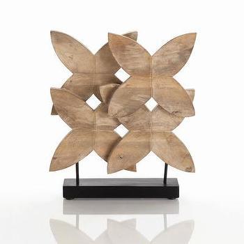 ARTERIORS Home Ella Carved Wood Sculpture, Wayfair