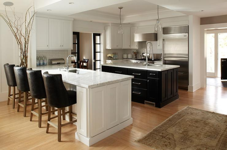 Kitchen with island and peninsula contemporary kitchen - Island or peninsula kitchen ...
