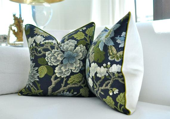 Gp Amp J Baker Magnolia Pillow Cover By Woodyliana I Etsy