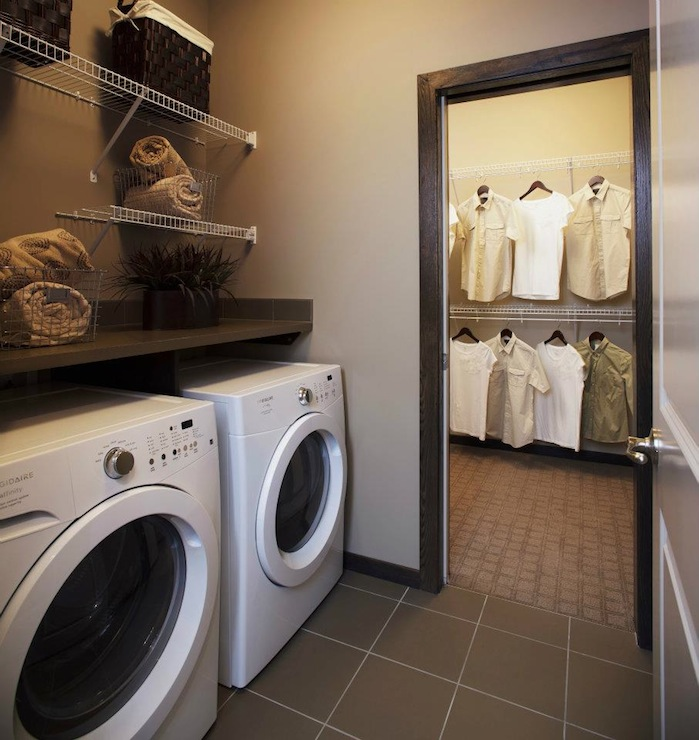 Laundry Room Shelves Design Ideas