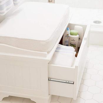 bathroom bench design ideas