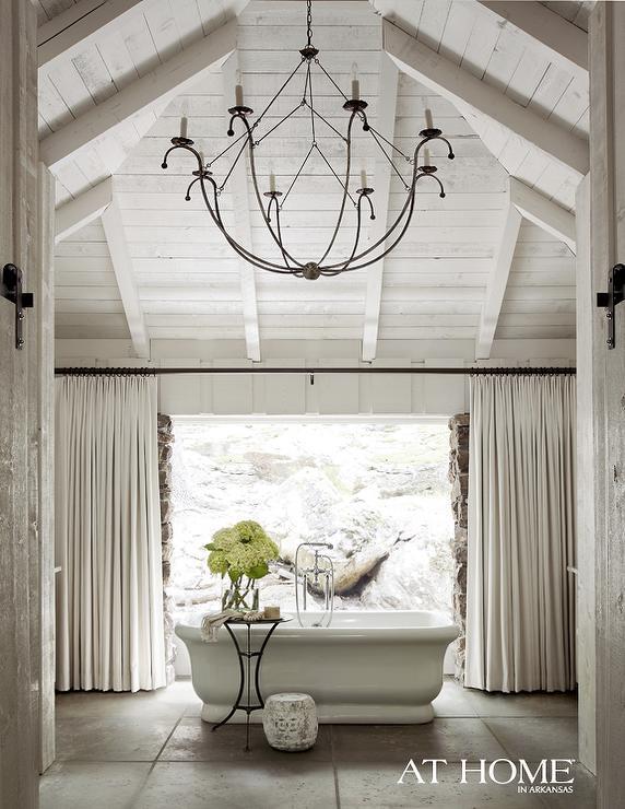 Empire Freestanding Rectangular Tub - Country - bathroom - Atlanta Homes & Lifestyles