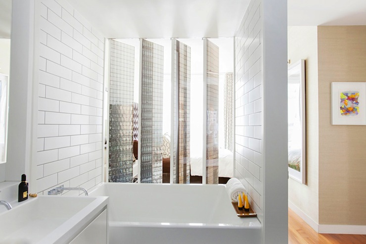 Subway Tile Shower View Full Size