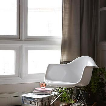 Eames Molded Plastic Rocker, Contemporary, living room, Design Sponge