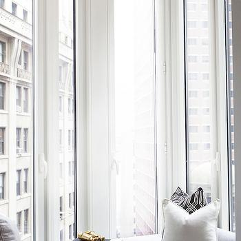 High-Rise Window Seat, Contemporary, den/library/office, Carlyle Designs