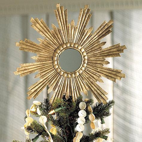 Venetian Star Tree Topper I Ballard Designs