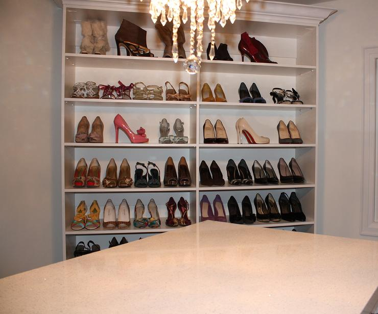 Shoe Cabinets Transitional Closet Toronto Custom