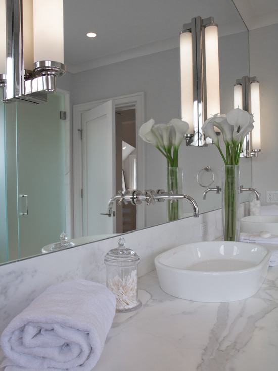 Contemporary bathroom vanity lighting - View More Bathrooms 187