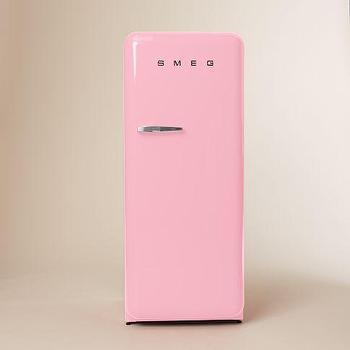 Smeg Refrigerator Pastel Blue West Elm