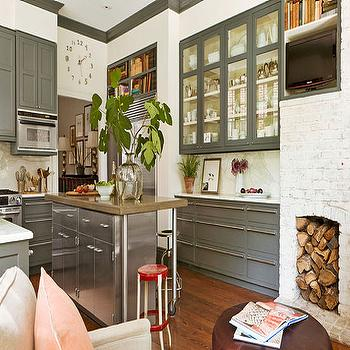 Apothecary Kitchen Cabinets Design Ideas