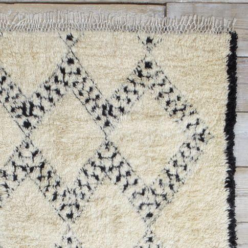found moroccan berber rug 9 bordered diamonds west elm