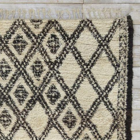 Found Moroccan Berber Rug   Bolded Diamonds | West Elm
