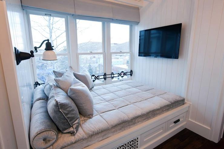 Built In Bed Nook Transitional Bedroom Washington