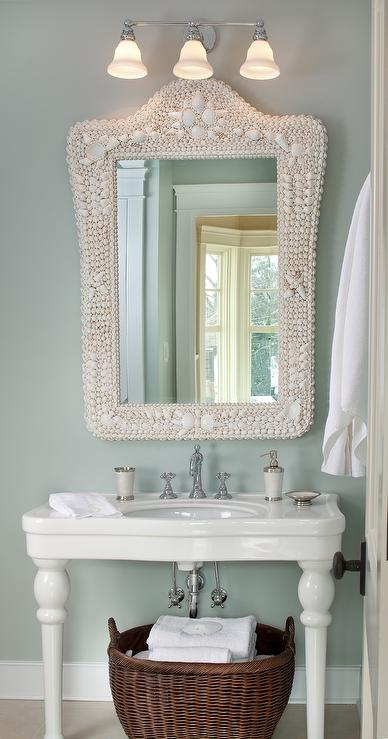 Parisian Pedestal Sink Cottage Bathroom Kristin