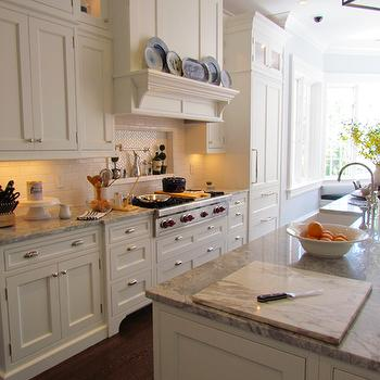 Kitchen Island with 2 Sinks, Traditional, kitchen, Gardiner and Larson Homes