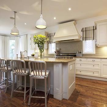 White and Gray Kitchen Design, Transitional, kitchen, Nest Design Studio
