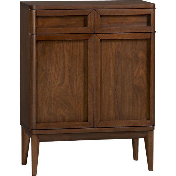 Oslo bar cabinet crate and barrel - Crate and barrel bathroom vanities ...